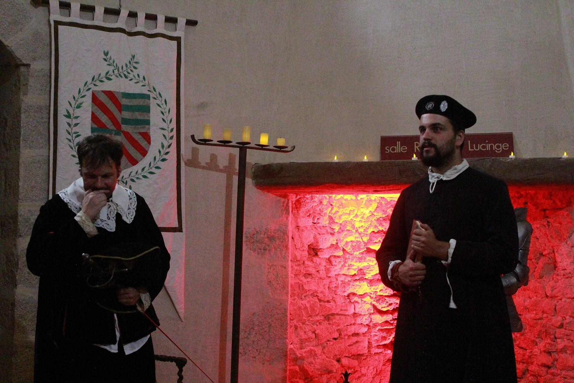 Emmanuel et Jean-François de Lucinge